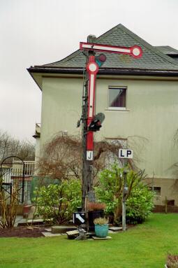 Signal in einem privaten Garten